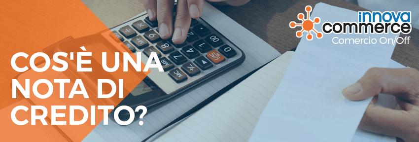 Cos'è una nota di credito?